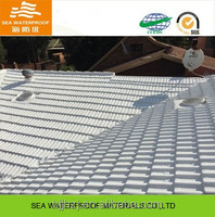 Liquid waterproof and insulation coating for metal roof