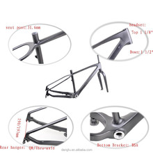 carbon fat bike frame with 190/197mm rear spaceing at factory price, 2015 New design fat bike carbon