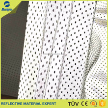 Color reflective stretch fabric