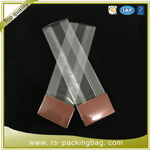 plastic bags stand up clear cello OPP candy/toy bopp square bottom bag