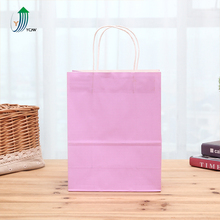 Plastic coated square bottom grocery lined kraft paper bag for food packaging