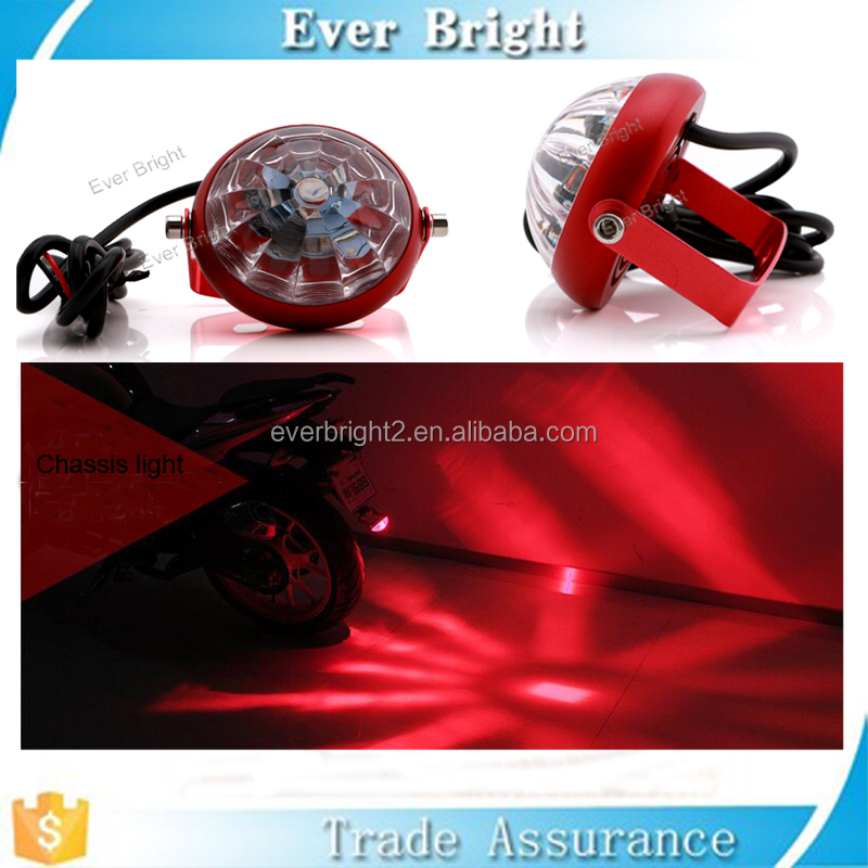 Waterproof Motorcycle Laser Chassis Lights Car LED Warning Lights Ground Effect Light Kit