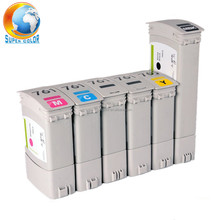 Ink cartridge for HP T7100 printer with original pigment ink