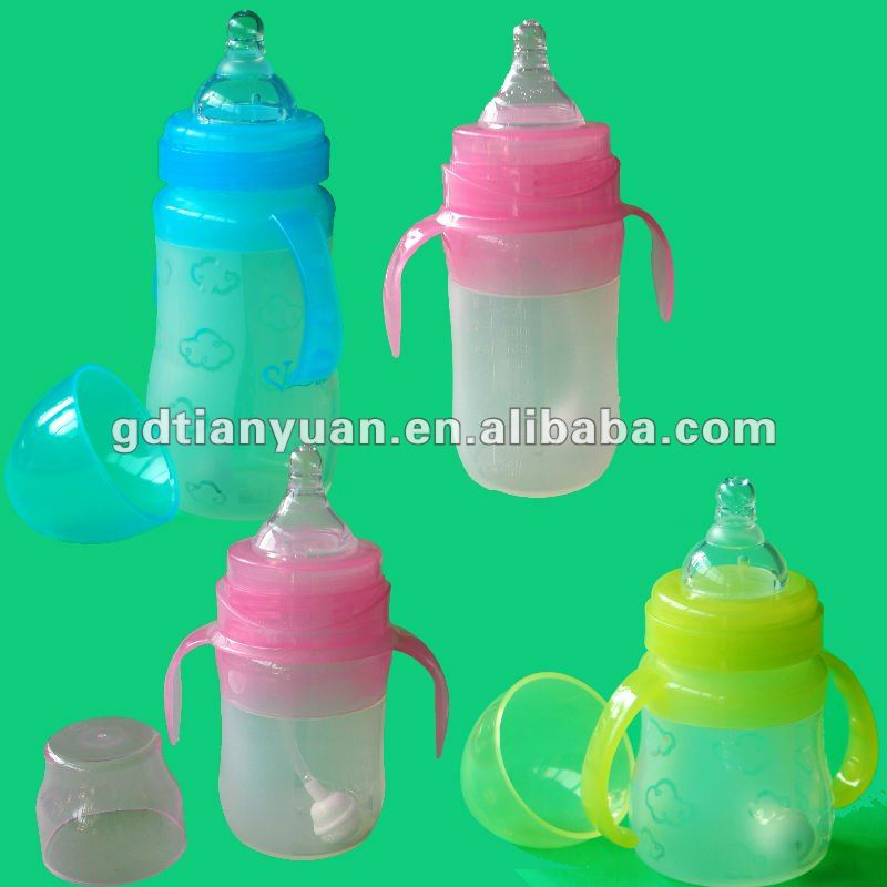 Baby bottle, OEM baby bottle, liquid silicone baby bottle
