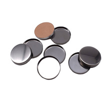 Multi -Size round cosmetics packing empty magnetic eyeshadow pans