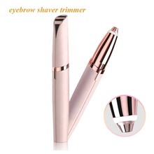 2019 HOT Selling Electric Eyebrow Trimmer Women Painless Eyebrow Shaver Mini Face Brows Hair Remover