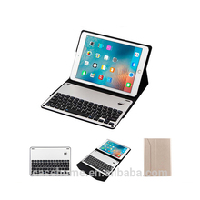 New keyboard leather table case for iPad 9.7 wireless bluetooth keyboard table case for iPad pro 9.7 inch air 2