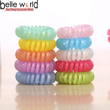 Good quality new hot wire plastic coil hair band accessoires