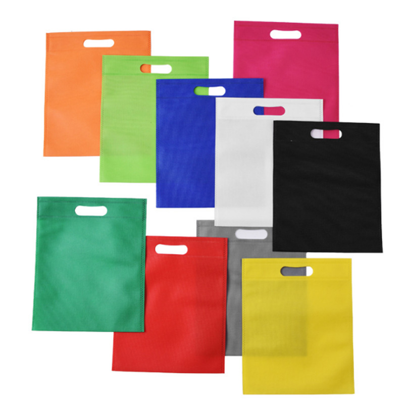 Promotional Eco Friendly PP Non Woven Handle Shopping Bag