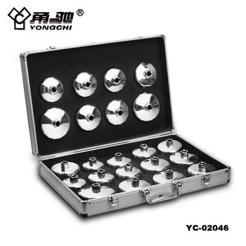 22pcs cup type auto oil filter wrench