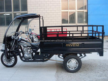 Cabin Motorized Cargo Trike Optional Color 200cc 250cc 150cc Motorcycle