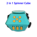 2 in 1 Anti Stress Fidget Cube Stress Reliever for Children and Adults
