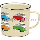 Official Camper Van Enamel Tin Mug
