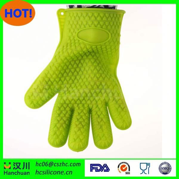 silicon glove for kitchen,jacquard terry mittens,oven silicone mitts