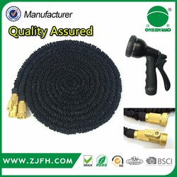 online shopping india and usa 50ft/75ft/100ft Expandable Magic garden Hose with solid Brass Fitting