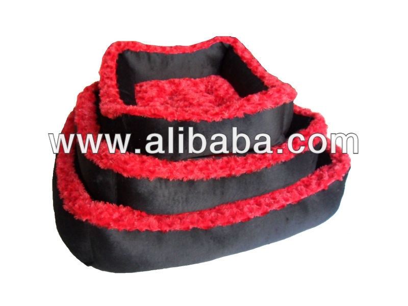Fur-velvet pet bed
