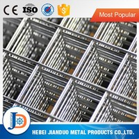 Bright galvanized welded wire mesh / low price electro galvanized welded wire mesh panel