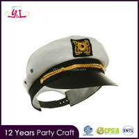 2016 Halloween Costume Fashion Accessory Sailor Hat Parties Party Supplies