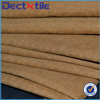 Flame retardant Soft microfiber brushed polyester fabric tricot brushed fabric
