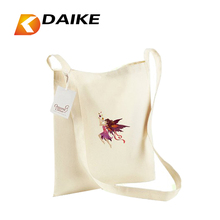 Factory direct Pattern Cotton Sling Bag for Custom Logo simple design