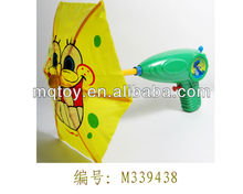 Novelty 33Cm plastic cartoon umbrella water gun gun toy new product china manufacturer made in china summer toy