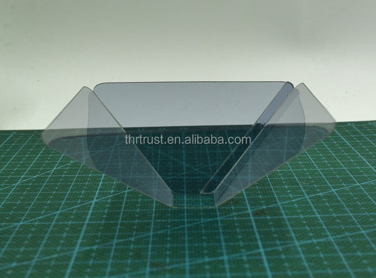 Wholesale Price pyramid 3d hologram display with Sucker