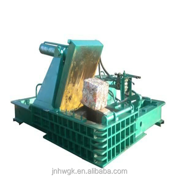 High pressure Automatic Control hydraulic scrap metal recycle <strong>machine</strong> compactor for iron aluminum baling press <strong>machine</strong>