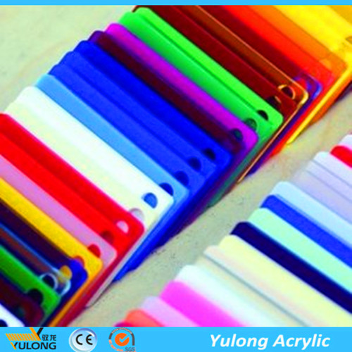 2mm 4*6 Color PMMA Acrylic Sheet