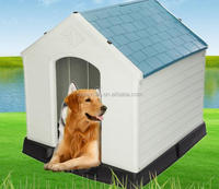 Outside the four seasons general plastic large breed dog house dogs home indoor and outdoor durability of pet house waterproof c