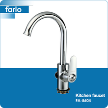 FARLO brass chrome single lever kitchen sink water tap