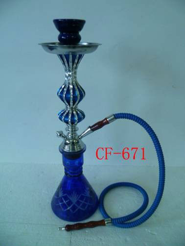 Mettle hooka Crystal shisha nargile best price CF-670