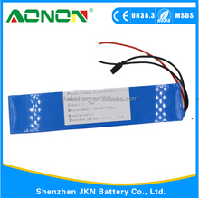 7S5P Rechargeable 10Ah 24V 18650 Li-ion Battery Pack For Ebike