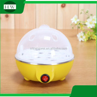 customer customized logo plastic 7 eggs multi-function mini electric egg boiler cooker poacher cooking machine