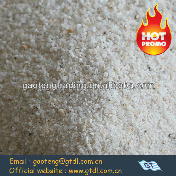 filter quartz silica sand with 99.31% SIO2 content
