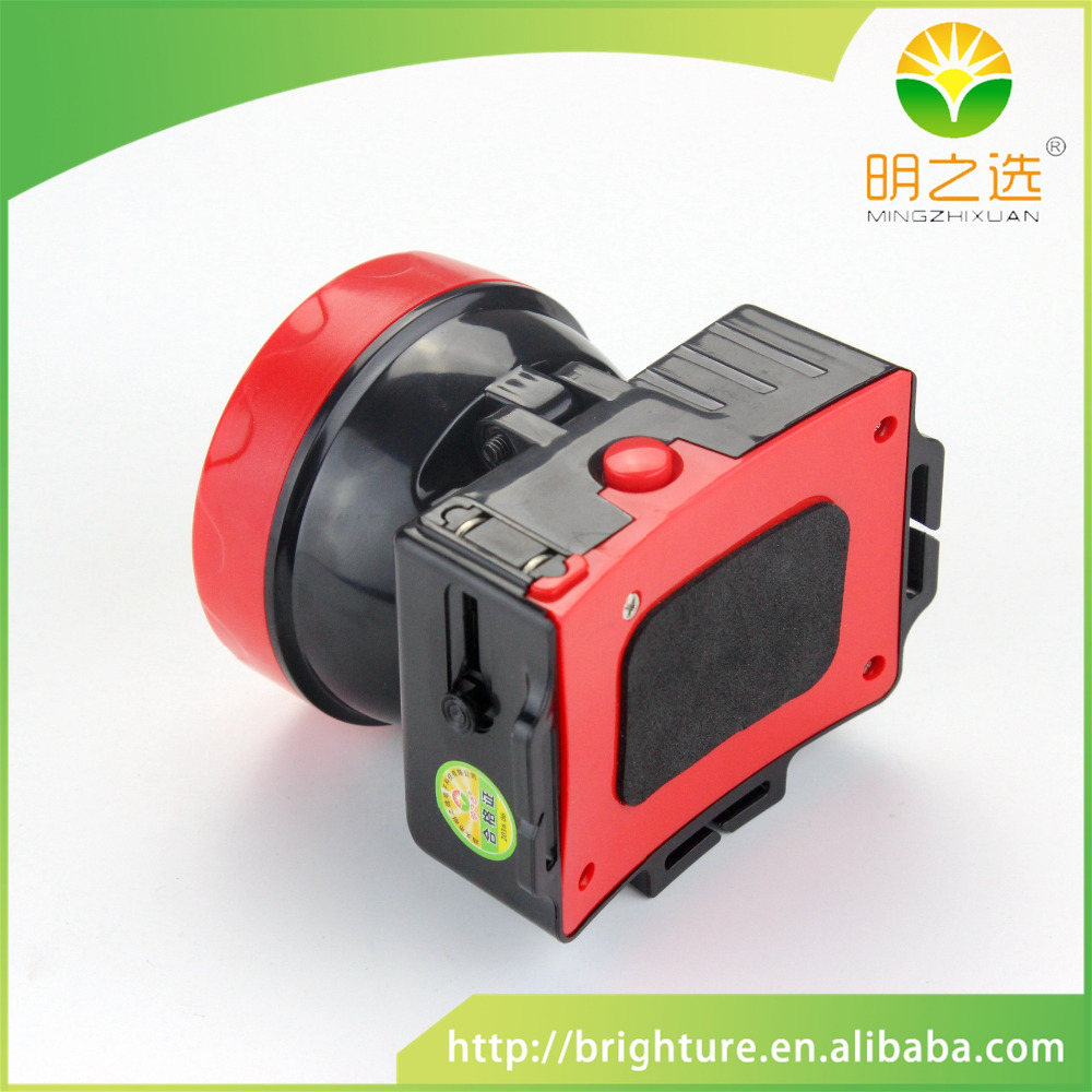 Highlighted cost-effective head lamp for underground work