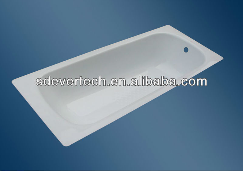 cheap 1600MM Enamel Steel Bathtub