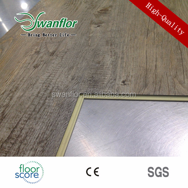 BEVEL EDGE Wooden WPC Vinyl Flooring Tile
