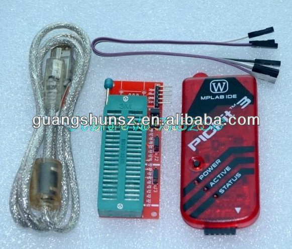 PICKIT3 Programmer + PIC ICD2 PICKit 2 PICKIT 3 Programming Adapter Universal Programmer Seat Wire Line