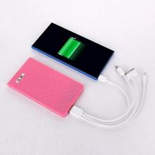 Promotional items for 2016 gift credit card power bank 6600 mah