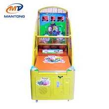 Kids Coin Operated Basketball Machine Arcade Indoor Basketball Shooting Game Machine For Amusement Park