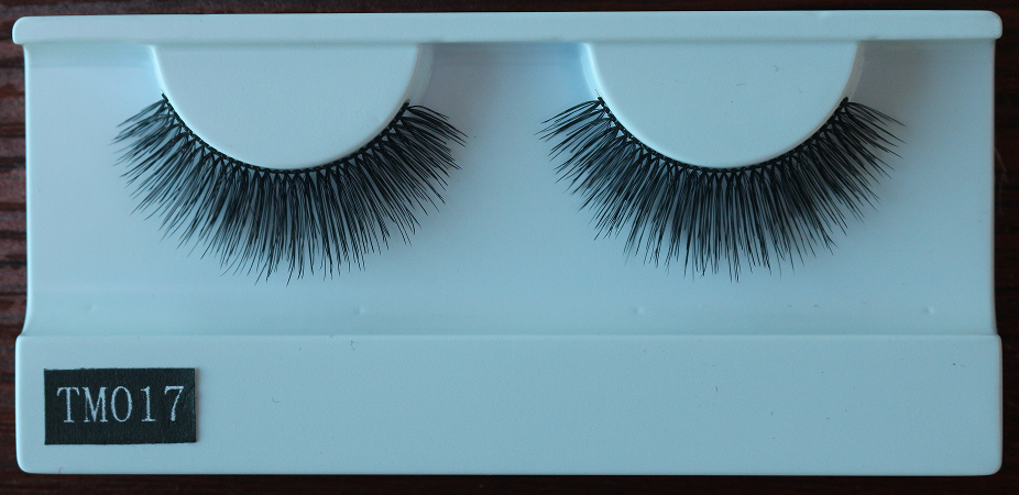 New style super natural look 100% human hair false eyelashes free samples