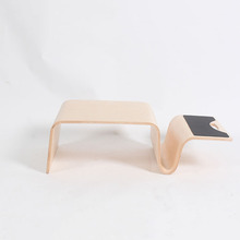 TL100 offi Curved Plywood Bent wood small table