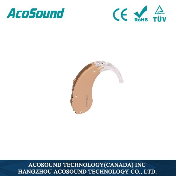 China AcoSound Acomate 410 BTE Sound Voice High professional Hearing device ear hook hearing aid