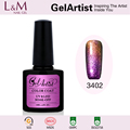 Wholesales Supplies GelArtist Soak Off Chameleon uv nail gel factory