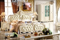 Foshan factory direct selling bedroom furniture and classic and french style bed
