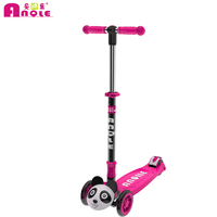 High Quality Space Saving Foldable Colorful Assembly Kids Balance Scooter For Kids Plastic Scooter With Handle