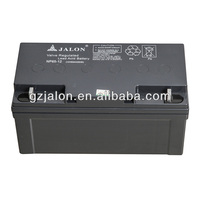 12V65AH UPS battery, deep cycle battery for solar system
