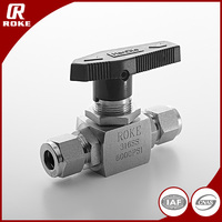 Hydraulic Control Valve Stainless Steel 2 Way Ball Valve