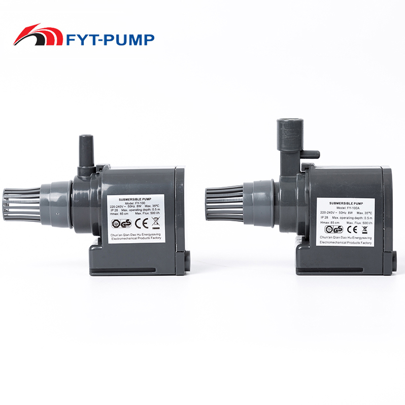 8w high quality centrifugal low pressure electric water fountain mini water pumps
