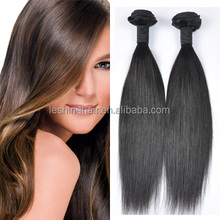 100% No Chemical Process Silky Straight Wave 8A Brazilian raw unprocessed virgin human hair